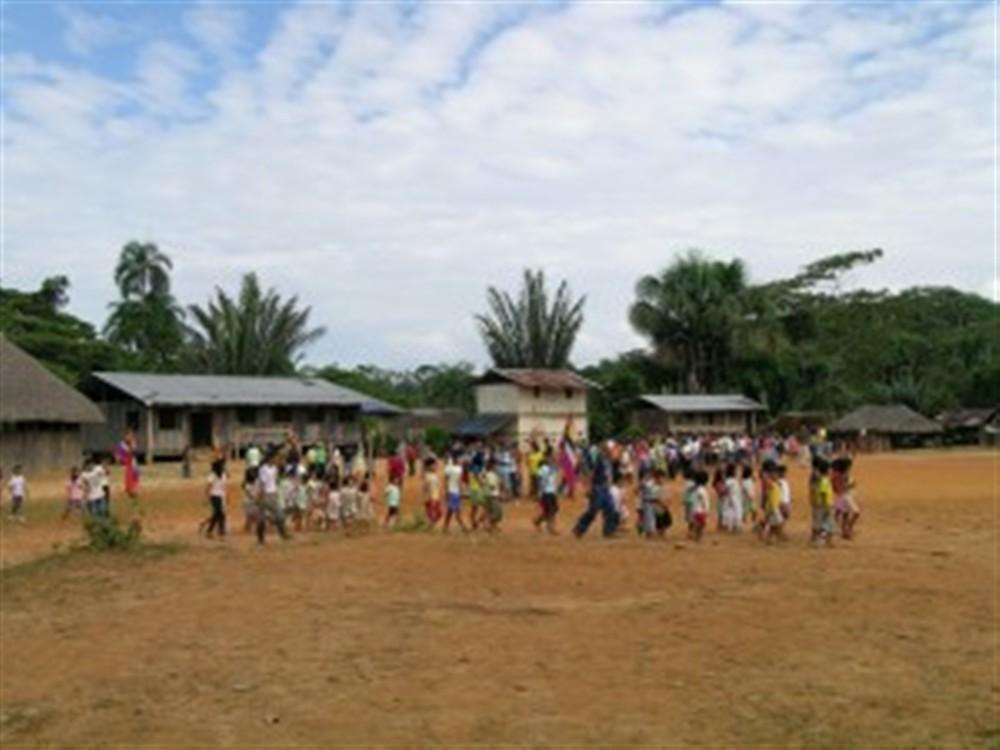 Place du village avant la fête