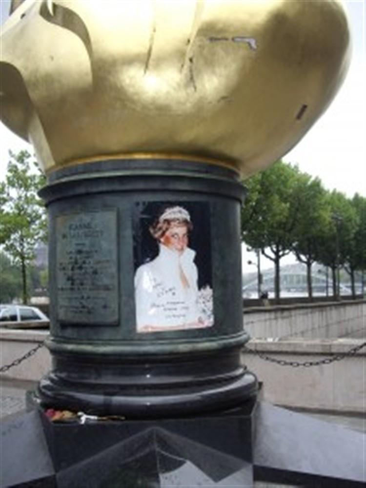 Un monument qui n\'a rien à voir avec Lady Di...