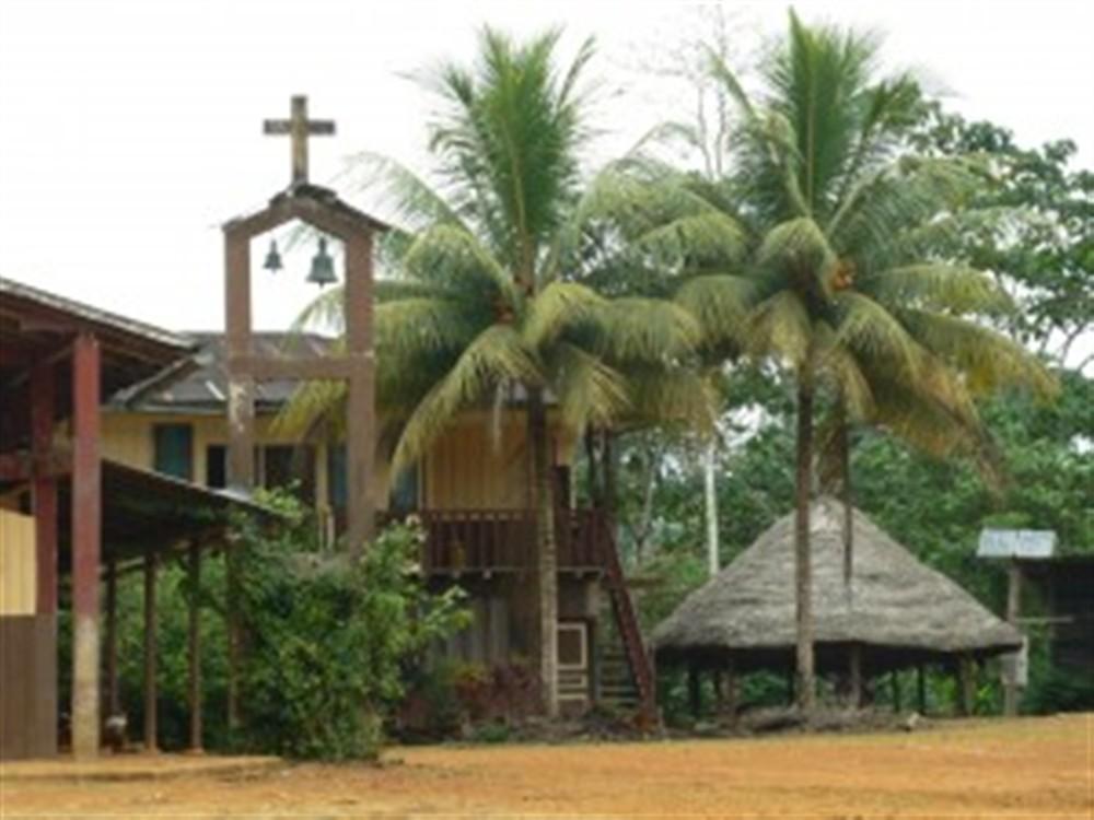 Le village en forêt amazonienne, provincia de Pastaza, Ecuador