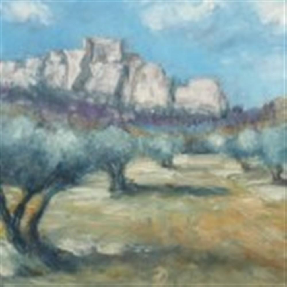 paysage des Baux de Provence, collection G. Lesoeurs