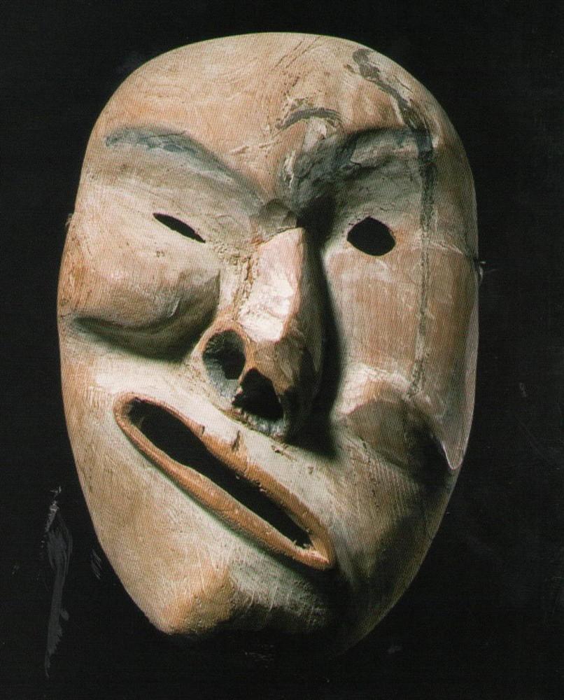 Masques dans l'art Masque-inuit-yukon