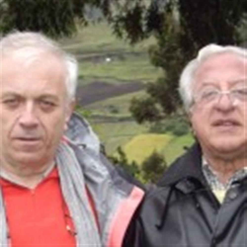 Avec Juan à Quilatoa, Equateur, 2007